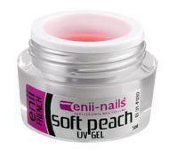 Enii nails FRENCH soft peach, broskyňový UV gél 5ml
