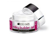 Enii nails UV GÉL French, modelovací, mliečno biely 10 ml