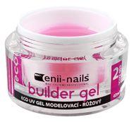 Enii nails UV GÉL modelovací ružový 40 ml