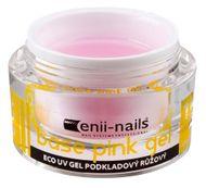 Enii nails UV GÉL podkladový ružový 10 ml