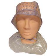 Biostyle čiapka melírovacia s kolieskami + ochrana krku