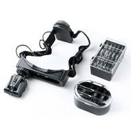 Biostyle Okuliare s lupou, LED svetlom k aplikácii 3D mihalníc