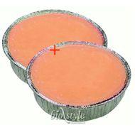 Biostyle parafín pomaranč 480g + 480g