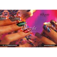 Biostyle plagát farebné nechty