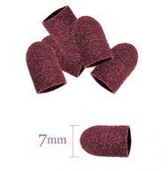Brúsne kotúčiky 7mm/60 10 ks ružové