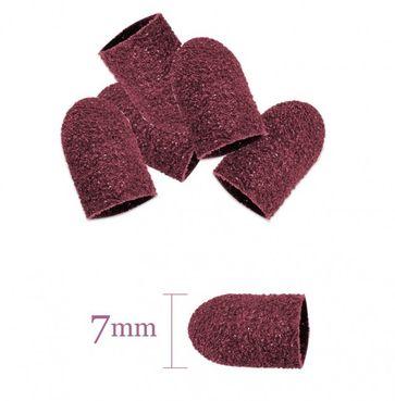 Brúsne kotúčiky 7mm/60 50 ks ružové