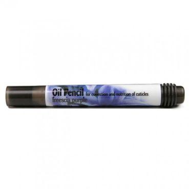 Lion Cosmetics Ceruzka olejová na nechtovú kožičku Freesia Purple 4ml