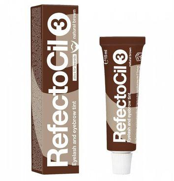 RefectoCil farba na obočie a riasy 3. tmavohnedá, 15 ml