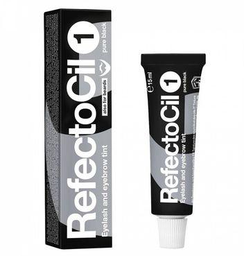 RefectoCil farba na obočie a riasy 1. čierna 15 ml