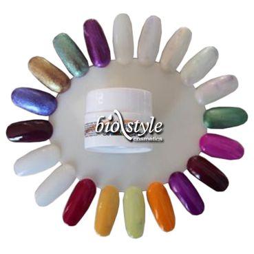 Biostyle farebný UV gél METALIC - metalický 5 ml