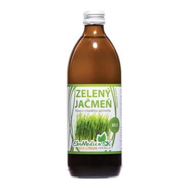 Jačmeň zelený - prírodná šťava 500 ml