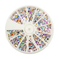Karusel s okrúhlymi ozdobami mix farieb a veľkosti