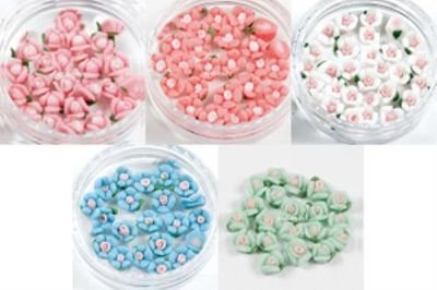 Kvety keramické 3D
