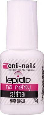Lepidlo Enii-nails so štetcom, 7,5 gr.