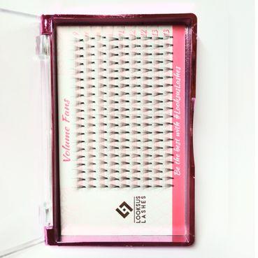 Looksus Lashes 10D Volume Fans Mihalnice typ C 0,07mm, mix dĺžok