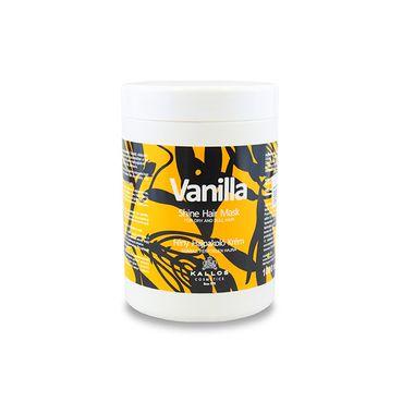 Kallos Vanilla - vanilková maska na vlasy 1000 ml