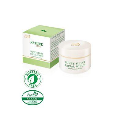 Stella Golden Green NATURE LINE Medový pleťový peeling 50 ml