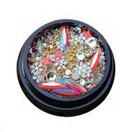 Ozdoby na nechty - luxusné šperky, mix č.02