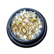 Ozdoby na nechty - luxusné šperky, mix č.03