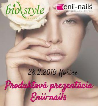 Produktová prezentácia Enii-nails - Košice