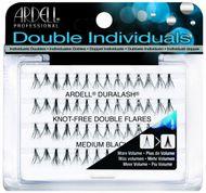Ardell Double Individual Lashes Medium - zdvojené trsy bez uzlíka