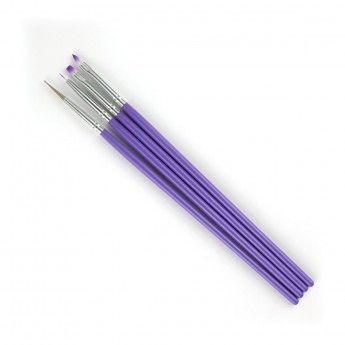 Sada štetcov fialová 4ks