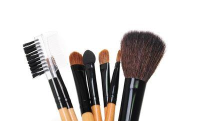 Biostyle Sada štetcov na make-up, čierne púzdro, 7 ks