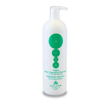 Kallos KJMN Deep Cleansing Shampoo - šampón pre mastné vlasy 1000ml