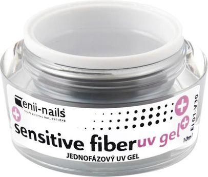 Enii nails SENSITIVE FIBER gel, jednofázový 10 ml