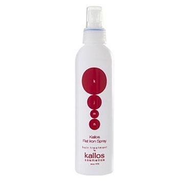 Kallos KJMN Flat Iron Spray - sprej s tepelnou ochranou na vlasy 200ml