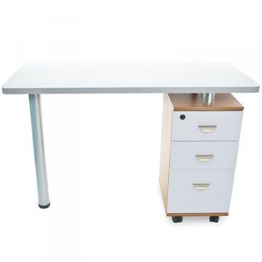 Stôl na manikúru Azzuro 2021, biely