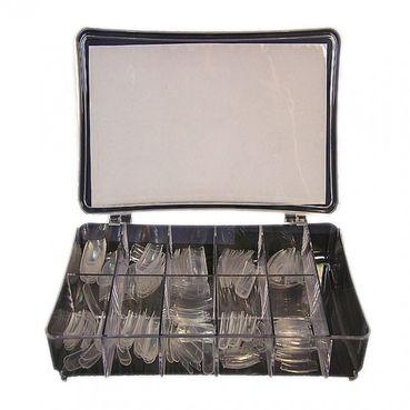 Biostyle nechtové tipy Clear - priehľadné, box 200ks