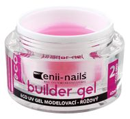 Enii nails UV GÉL modelovací ružový 10 ml