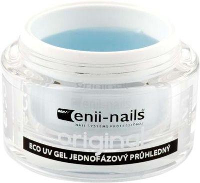 Enii nails UV GÉL originál jednofázový priehľadný 10 ml