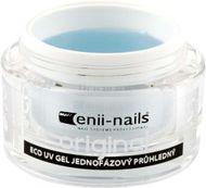 Enii nails UV GÉL originál jednofázový priehľadný 40 ml