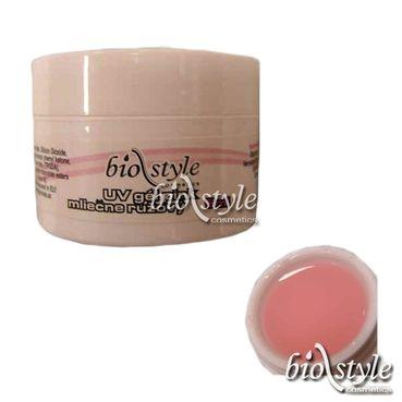 Biostyle UV gél stavebný pink mliečne ružový 5ml, 15ml, 30ml