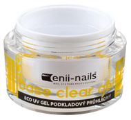 Enii nails UV GÉL, podkladový priehľadný 40 ml