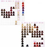 Kallos Vzorkovník krémových farieb Kallos KJMN